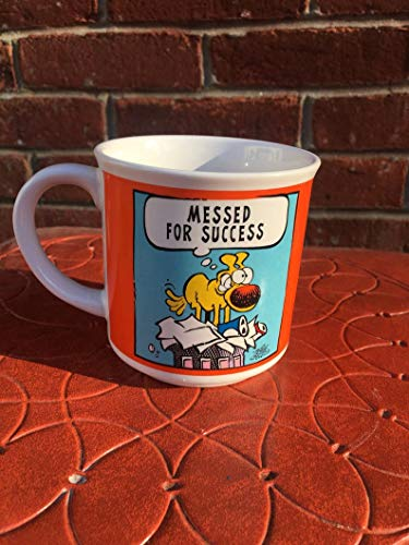 Vintage Grimmy Mother Goose and Grimm Mug 90s Comic Book Coffee Cup Messed For Success Mug Cup 11OZ Gift Holiday