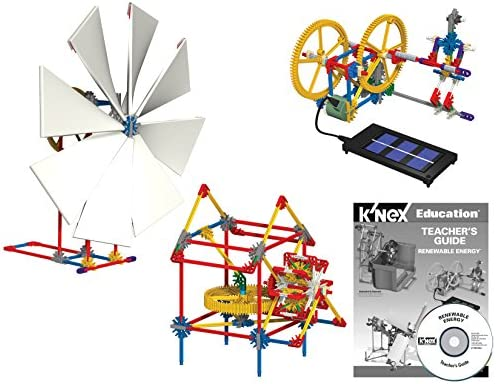 K'NEX Education – Renewable Energy Set – 583 Pieces – Ages 10+ – Engineering Educational Toy