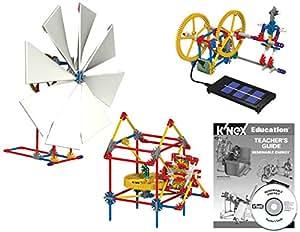 K'Nex - Set de energía renovable para niños a Partir de 10 años (583 Piezas)