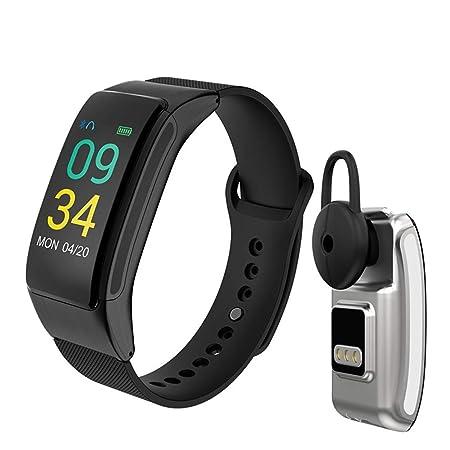 KDSFJIKUYB Smartwatch Música Reloj Inteligente para Hombres con ...