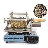 Coffee Roaster Gas Burner Coffee Roaster Machine Coffee Beans Baker Coffee Beans Roasting Machine for Home Coffee Shop