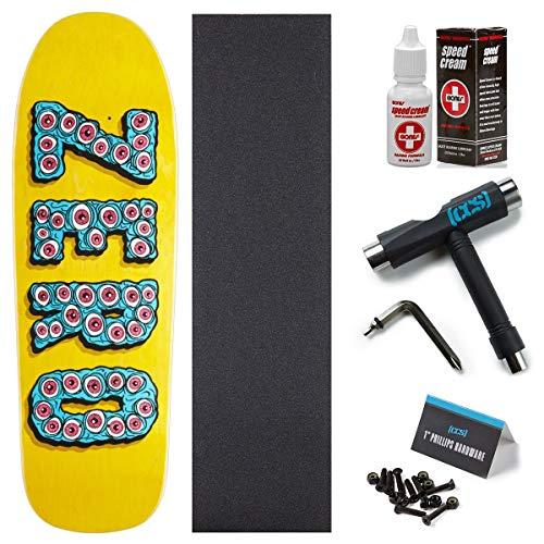 Zero Evil Eyes Skateboard Deck - 9.50