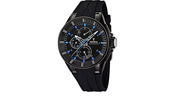 Amazon.com: Festina Sport Mens Analog Quartz Watch with Silicone Bracelet F20341/3: Watches