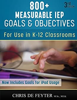 Amazon 800 measurable iep goals and objectives ebook chris de 800 measurable iep goals and objectives by de feyter chris fandeluxe Images
