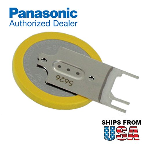 Panasonic CR-2032/GVFN 3V Lithium Coin Battery 3 PC Pins Tab For RFIDCR2032-2E31R+ CR2032-TPX AHL03003095 AHL03002111 CR2032-2E31R AHL03003095 HP Pavilion DV6000 Series memory support power source (Series Battery Cmos)