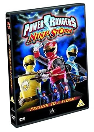 Power Rangers Ninja Storm 1 [Reino Unido] [DVD]: Amazon.es ...