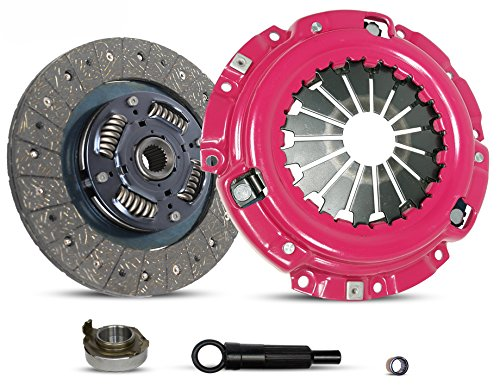 Clutch Kit Stage 1 Works With 1997-2004 Mercury Tracer Mazda Tribute Ford Escape Escort Limited Sport XLS XLT DX ZX2 SE GS LS Trio Aust Deportivo 2.0L l4 GAS DOHC SOHC Naturally Aspirated (Stage 1)