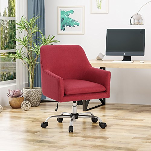 Christopher Knight Home 305758 Morgan Home Office Chair, Red