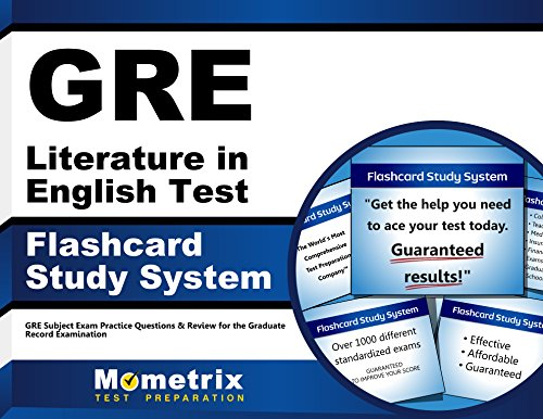 GRE Literature in English Test Flashcard Study System: GRE Subject Exam Practice Questions & Review for the Graduate Record Examination (Cards) by Brand: Mometrix Media LLC