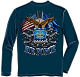 Erazor Bits air Force Shirt | Double Flag Air Force Long Sleeve T Shirt ADD-MM2150LSM