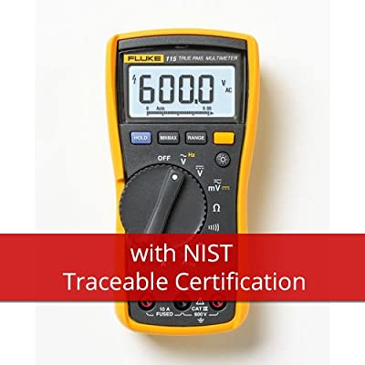 Fluke 115-NIST Handheld Multimeter - Type: Digital, Style: Hand-Held