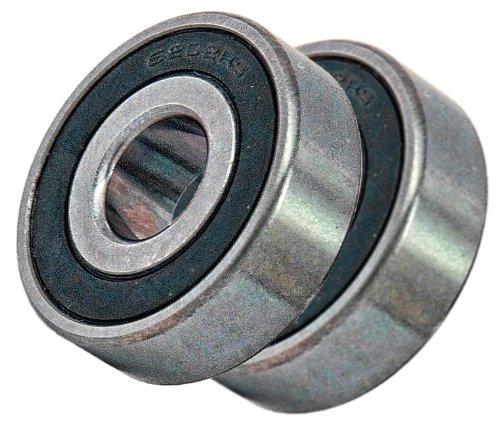 Sealed Bearings Inch (2 Sealed Bearing 6202-8-2RS 1/2 x 35x11 Ball Bearings Inch VXB Brand)