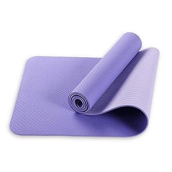 HEXIAOPENG Esterilla de Yoga Antideslizante, para Pilates ...