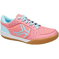 Artengo Women's Badminton Shoes BS730 - Pink Blue
