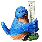 Michael Carr Designs Blue Bird Rain Gauge