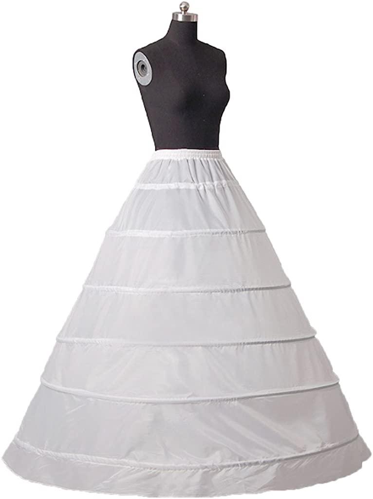 Plus  Standard Size 3 HOOP A Line Wedding Dress Bridal Crinoline Petticoat Slip