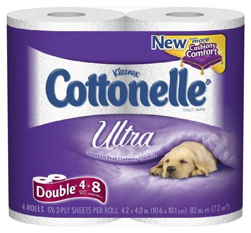 Cottonelle Ultra Comfort Care Toilet Tissue, 2 ply, White -