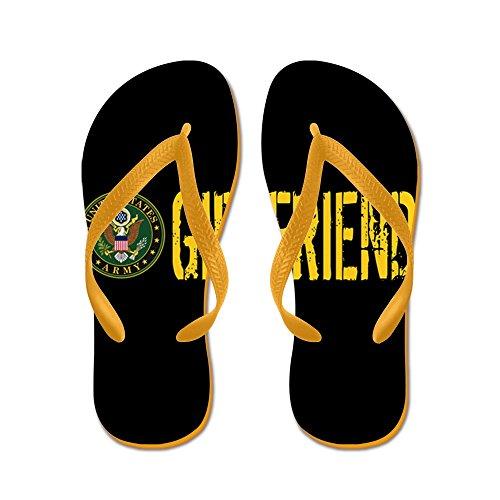 Esercito Ci Esercito: Fidanzata - Infradito, Sandali Infradito Divertenti, Sandali Da Spiaggia Arancione