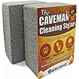 DASKSHA Pumice Stone Toilet Bowl Cleaner and Pool Grout Cleaner - 2 Pack - 4 Inch Pumice Stone Cleaning Tool
