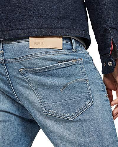 Aged Raw 9136 G Noir Homme star Destroy Jeans lt 1243 YArY8