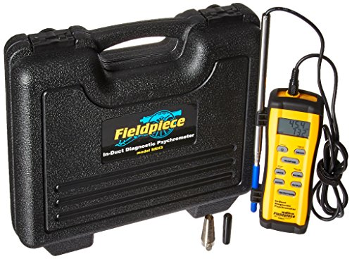 - Fieldpiece SRH3 In-Duct Digital Psychrometer