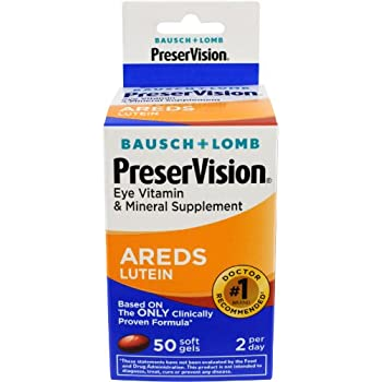 Amazon Com Bausch Amp Lomb Preservision With Lutein Eye