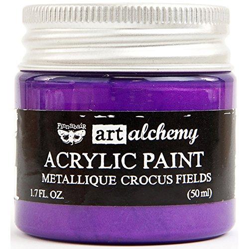 Prima Marketing Art Alchemy-Metallique-Crocus Fields