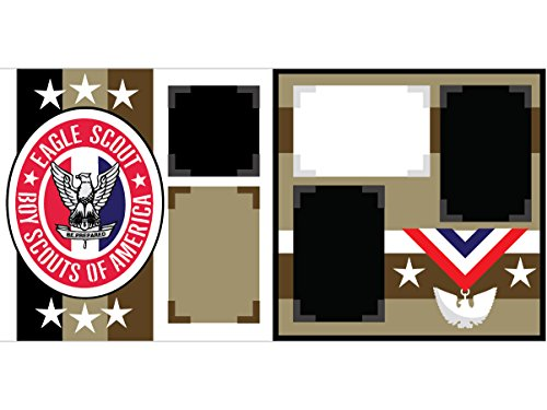"""Eagle Scout"" Scrapbook Page Kit"