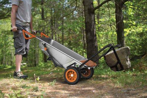 WORX WG050 Aerocart 8-in-1 2-Wheel Wheelbarrow/Garden Cart/Dolly by WORX (Image #6)