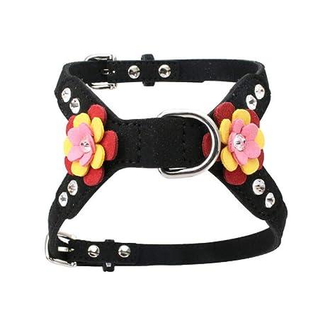 WHFDRHCWXQ Collar de Mascota Arnés para Perros pequeños Collares ...