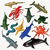 US Toy Assorted Ocean Sea Animals Action Figure (24 Count)