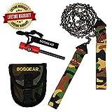 Pocket Chainsaw by SOS Gear, Emergency Survival Gear Hand Saw...
