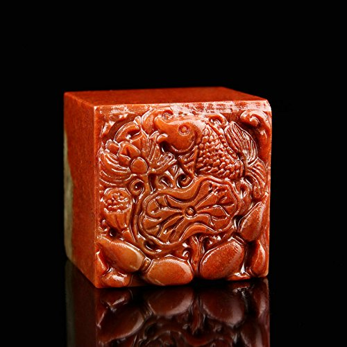 YZ020 Hmay Chinese Name Chop (4cm)/Handmade Carve Personalize Customized Traditional Calligraphy Painting Art Stamp Seal by Hmay Personalize Seal (Image #3)