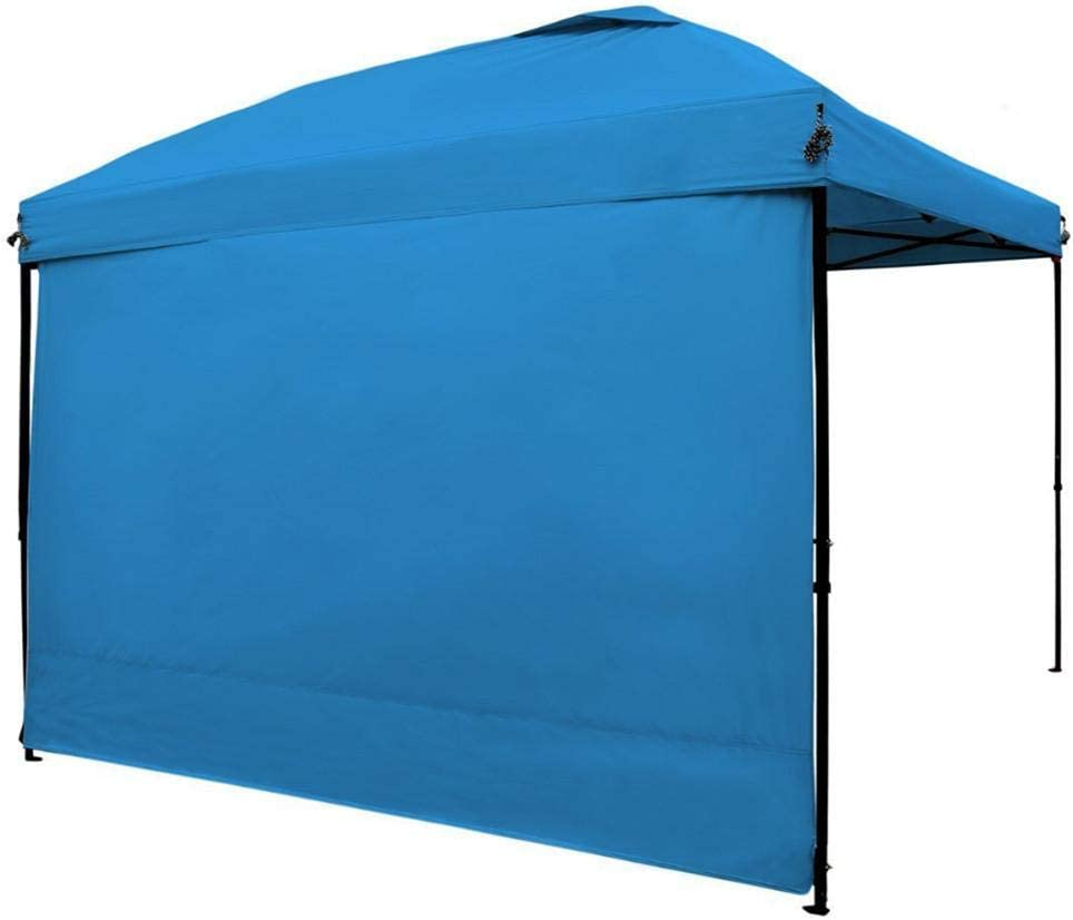 Instant Canopy Sunwall Blue 1 Pack Outdoor Canopy Sidewall for 10 x 10 Pop-Up Tent Canopy
