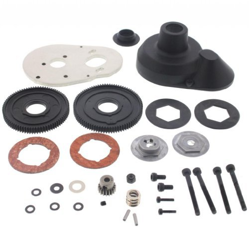 HPI 1/10 Blitz Flux 88T 83T SPUR GEARS SLIPPER CLUTCH MOTOR PLATE 18T PINION by HPI Racing