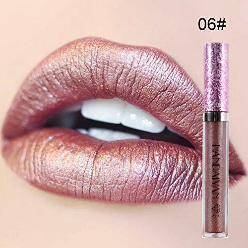 - 6 Colors Women Waterproof Long Lasting Liquid Velvet Matte Lipstick Makeup Nonstick Cup Lip Gloss