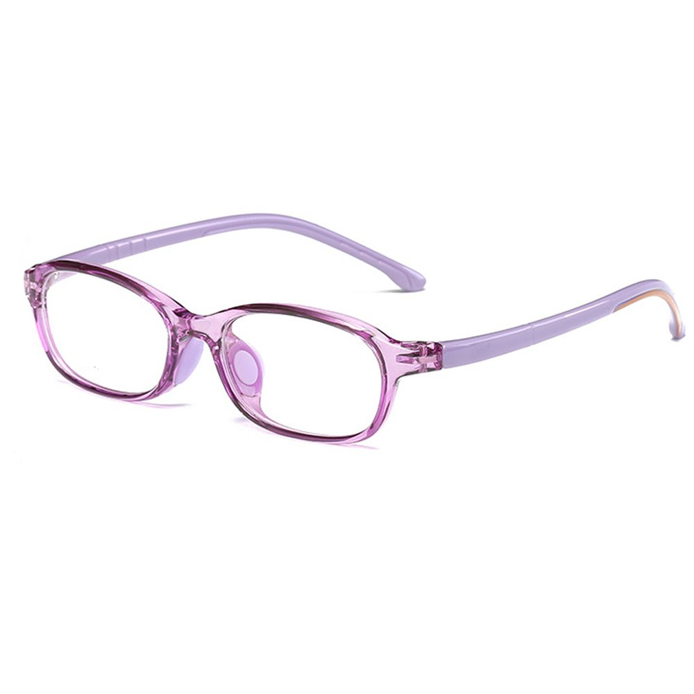 24a14d23d6 Amazon.com  Fantia Children Glasses Frame for Girls Ultra-Light Kids  Decorative Eyeglasses (A)  Sports   Outdoors