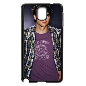 ashton kutcher wearing lining jacketwide Samsung Galaxy Note 3 Cell Phone Case Black 53Go-488286