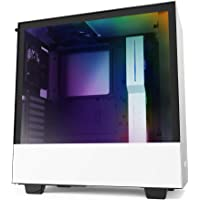 NZXT H510i - CA-H510i-W1 - Compact ATX Mid -Tower PC Gaming Case - Front I/O USB Type-C Port - Vertical GPU Mount…