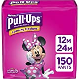 Pull-Ups Learning Designs Potty Training Pants for Girls, Size 12M-24M (14-26 Pound), 150 Count, One Month Supply (Packaging May Vary)