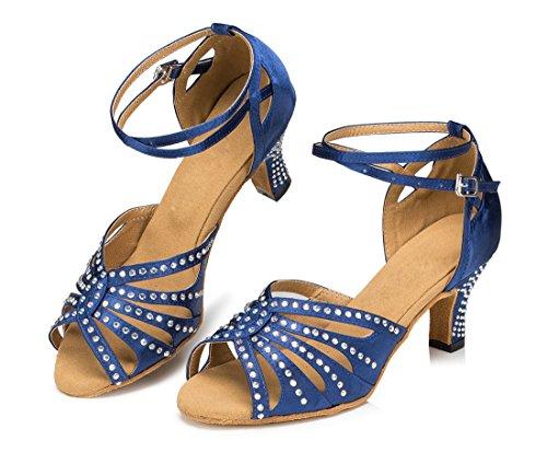 TDA - Zapatos con tacón mujer 6cm Heel Blue