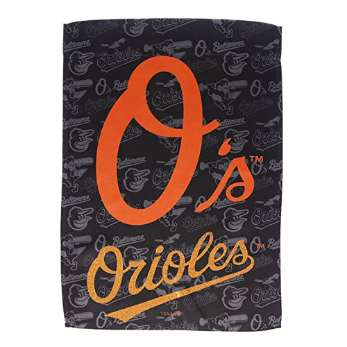 Oriole Garden (Team Sports America Suede Baltimore Orioles Glitter Logo Garden Flag, 12.5 x 18 inches)