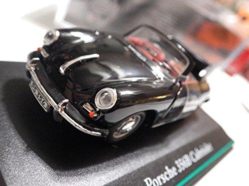 Hongwell (China Black Porsche 356B Cabriolet Diecast 1:43 Nib ()