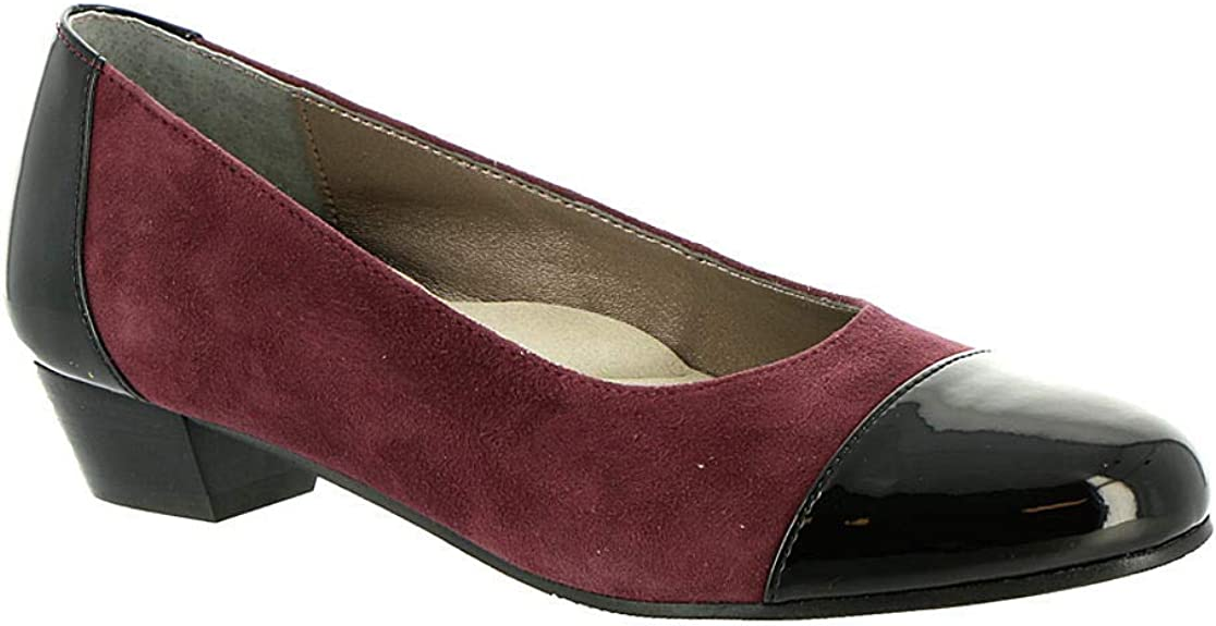 Details about  /Auditions Womens Ella Leather Cap Toe Special Occasion