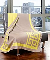Bedford Cottage Dann Foley Penthouse Collection Throw,Pavilion Taupe
