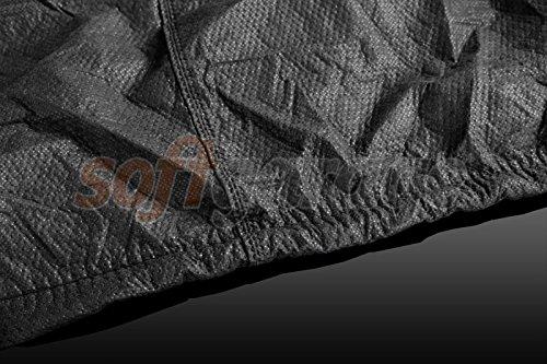 softgarage 3-lagig schwarz Indoor Outdoor atmungsaktiv wasserabweisend car Cover