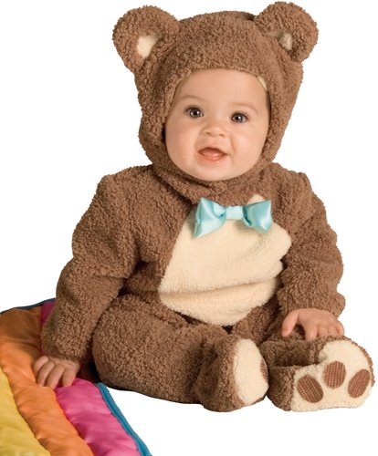 Teddy Bear Costume Baby (Rubie's Costume Noah's Ark Collection Oatmeal Bear, 6-12 Months)