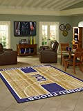 Texas Christian Horned Frogs 5 4'' x 7 8'' Home Court Area Rug