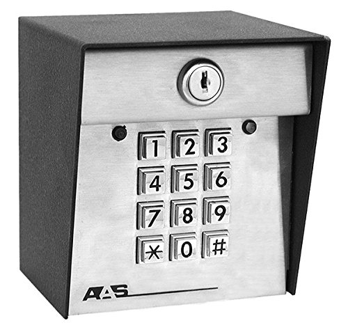 American Access Systems Post Mount 24-1000 DKS II Master Controller Station Keypad 1000 code AAS