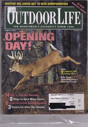 Outdoor Life Magazine October 2001 (1-213, Opening Day! Plus: 7 Fantastic Fall Fishing Runs! New Slugs, Short Magnums & Waterfowl Loads!) ()